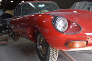 Custom Paint Job on a Jaguar