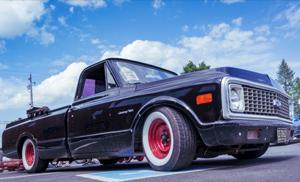 Custom Painted Chevy C10 truck