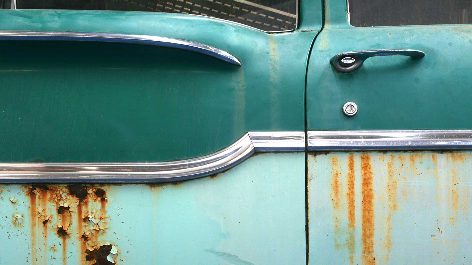 Rusted Car side
