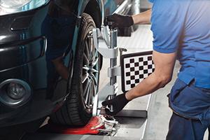 Car alignment to avoid car frame damage