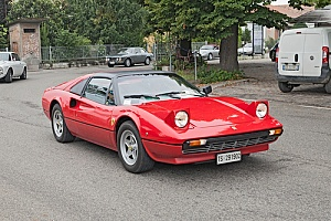 Consider an engine swap on a Ferrari 308