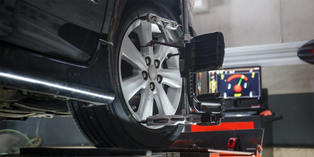 What is a wheel alignment