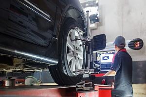 Truck receiving a lift