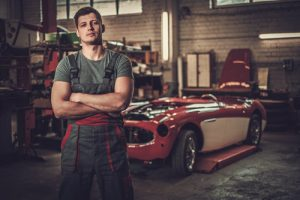 Classic car restoration is a growing industry