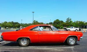 Classic car restoration - Chevy Impala