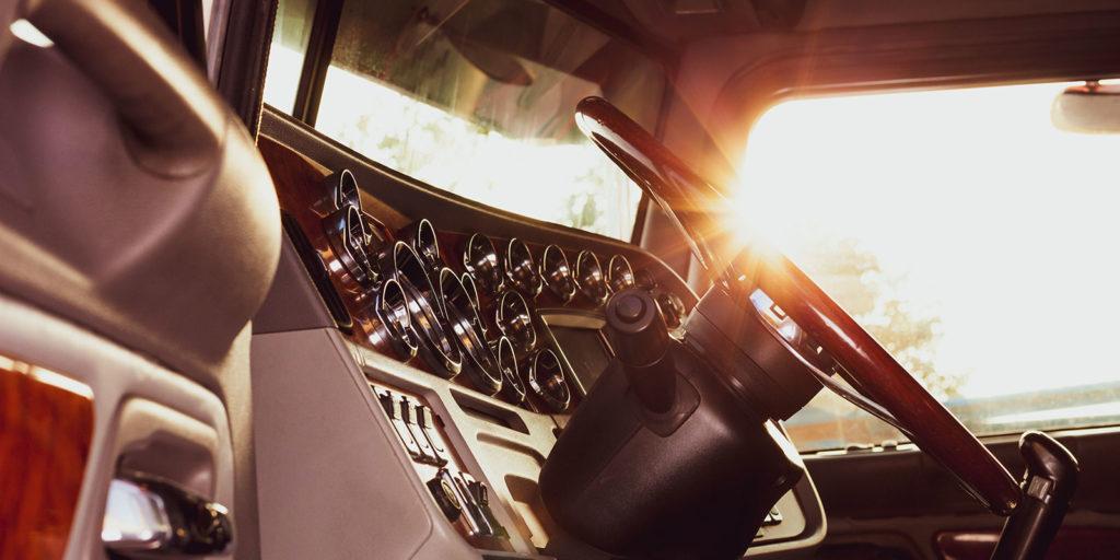 customized dash on a custom auto body car
