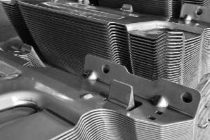 Auto parts produced by accurate sheet metal stamping tool for car restoration