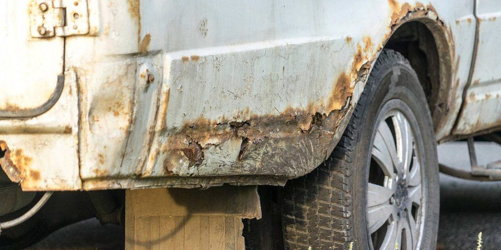 If you do not take care of your vehicle you will have rust on your car
