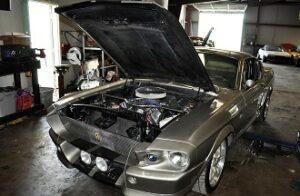 coyote engine swap