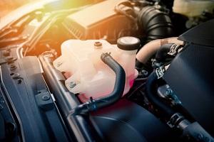 coolant car engine detail