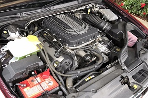 ford coyote engine swap taking place